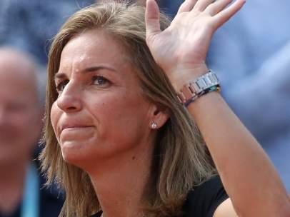 La tenista, en una imagen de 2018.