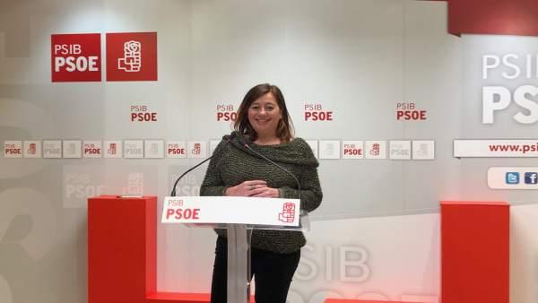 28A.- Armengol Anuncia Que Las Candidaturas Al Congreso Han Sido Elegidas 'Con T