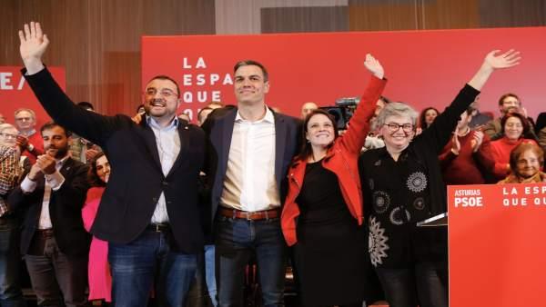 28A.-Sánchez Garantiza El Futuro De Hunosa Al Ser El 'Buque Insignia' Para Abord