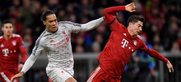 Bayern vs. Liverpool.