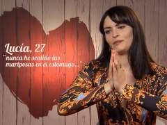 Lucía, en 'First dates'.