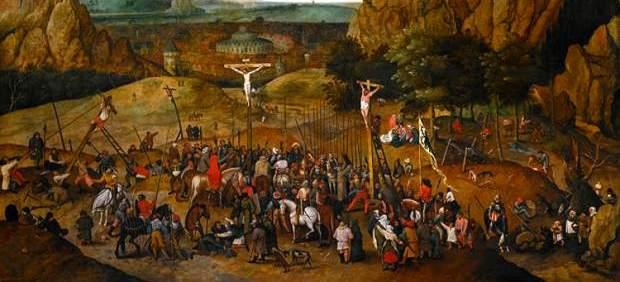 'Crucifixion' de Pieter Brueghel el Joven.