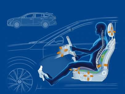 ¿Sufres dolor de espalda? Los asientos del nuevo Ford Focus te ayudan a combatirlo