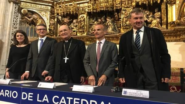 Las fundaciones Ibercaja y Cajacírculo se unen a la promoción del VIII centenari