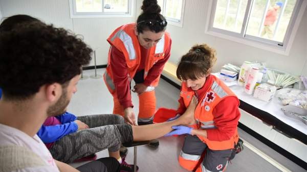 Más de 150 voluntarios de Cruz Roja participarán en el dispositivo de la segunda