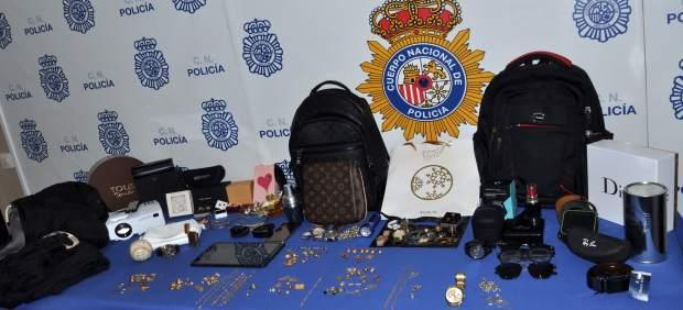 La Policía Nacional Desarticula Una Banda Criminal Muy Activa Dedicada A Robos C