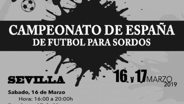 Sevilla.- El Centro Deportivo Los Mares acoge este fin de semana el Campeonato d