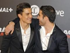Los actores Miguel Ángel Silvestre y Álex González