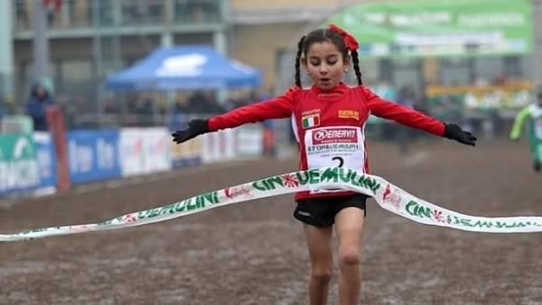 La joven corredora Sara Meloni