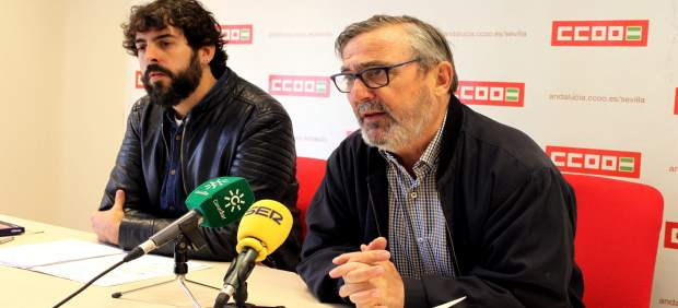 Sevilla.-CCOO advierte de que más del 58% de los trabajadores de Sevilla no lleg