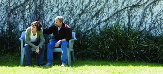 Nick (T. Chalamet) y David (S. Carell), una historia de lucha contra la adicción.