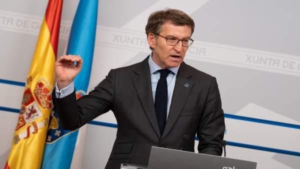Consello.- Feijóo alega que la huelga en Primaria 'no es asunto' de Galicia al c