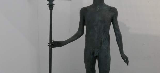 Santander.- La escultura de Neptuno Niño regresará la próxima semana al promonto