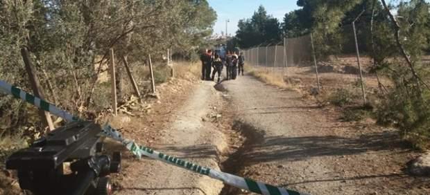 Operativo de la búsqueda de los dos niños desaparecidos en Godella (Valencia).