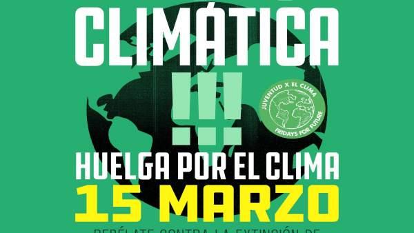 Galicia apoyará este viernes la huelga mundial por el Clima, que se extenderá po