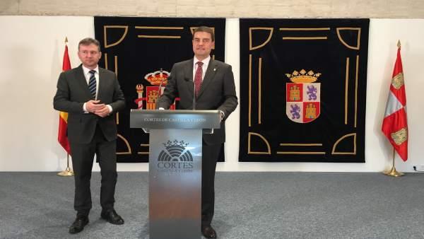 Burgos propone a las Cortes que respalden en el próximo pleno su candidatura a s
