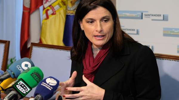 Rueda de prensa de la alcaldesa, Gema Igual
