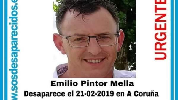 Una concentración en A Coruña pide que no se deje de buscar al hombre desapareci