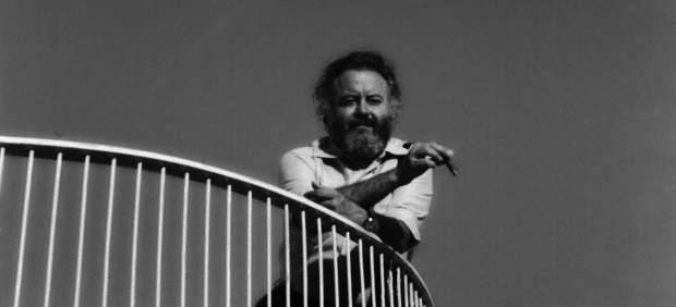 Fernando Higueras en el hotel Las Salinas de Lanzarote