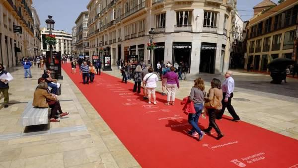 Málaga.- De la Torre valora la proyección del Festival de Cine como 'una gran pl