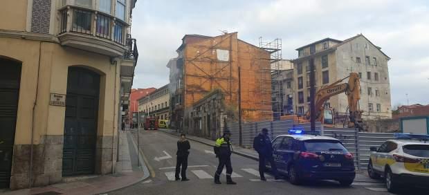 Santander.- Desalojado el edificio número 12 de Ruamayor por un incendio
