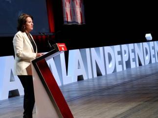 La presidenta de la Assemblea Nacional Catalana (ANC), Elisenda Paluzie