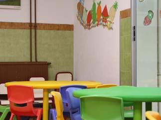 Imatge d'un aula d'Educació Infantil