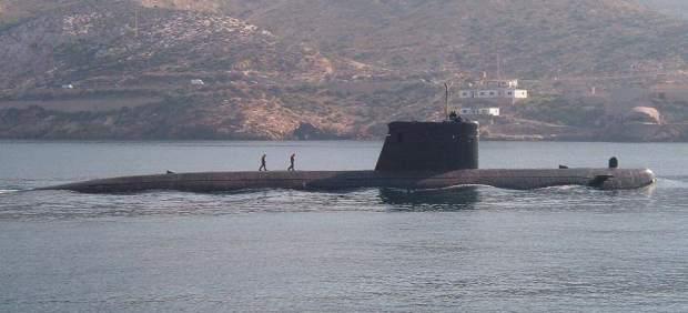 El submarino 'Mistral' hará escala el miércoles en la Escuela Naval de Marín (Po