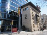 Sede de la Diputació de Barcelona en Rambla de Catalunya.