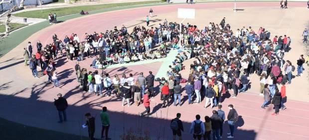 Alumnos de Lleida se suman al 'Fridays for future' contra el cambio climático