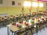 Comedor escolar.