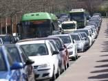 Problemas de tráfico en Madrid