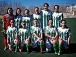 Las jugadoras del club Atlético Leones de Castilla