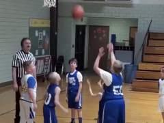 Partido de baloncesto en Nasville, Estados Unidos.
