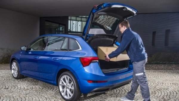 ¿Te imaginas realizar una compra por internet y recibirla en el maletero de tu coche?