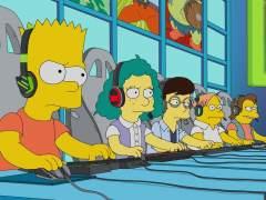 Los 'eSports' en 'Los Simpson'