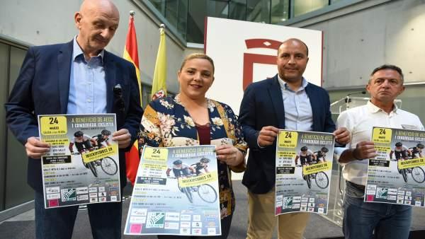 Granada.- Más de 350 ciclistas participarán en la primera carrera benéfica contr