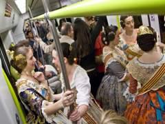 Metrovalencia es reforça per les mascletaes del cap de setmana, la Cavalcada del