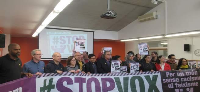 Convocan una manifestación contra Vox este sábado en Barcelona