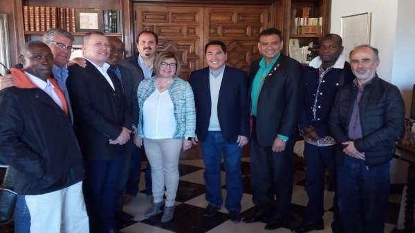La Diputación de Cáceres favorece la cooperación Sur-Sur en un encuentro entre d