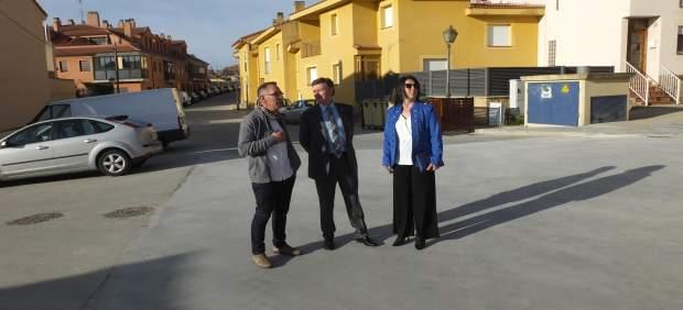 Una inversión de 75.000 euros permite pavimentar y reformar varias calles de Esp