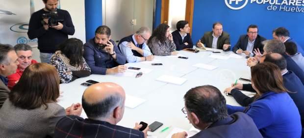 Huelva.-28A.- El PP ultima su estrategia electoral para afrontar los próximos co