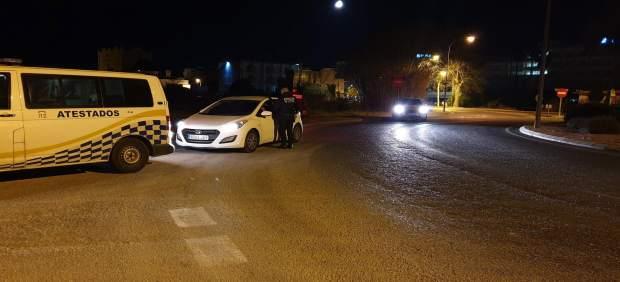 Denunciados siete conductores en Sant Antoni por dar positivo en drogas o alcohol