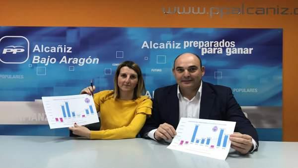 El alcalde de Alcañiz destaca el 'notable' descenso de la deuda y la reducción d
