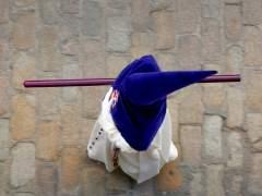 Nazareno en la Semana Santa de Sevilla 2018