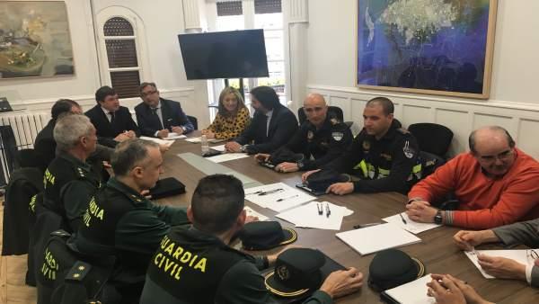 La Junta de Seguridad de Calahorra aprueba la aplicación en esta ciudad de un op