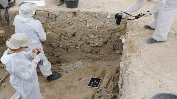 Trabajos en el Cementerio de San José de Cádiz