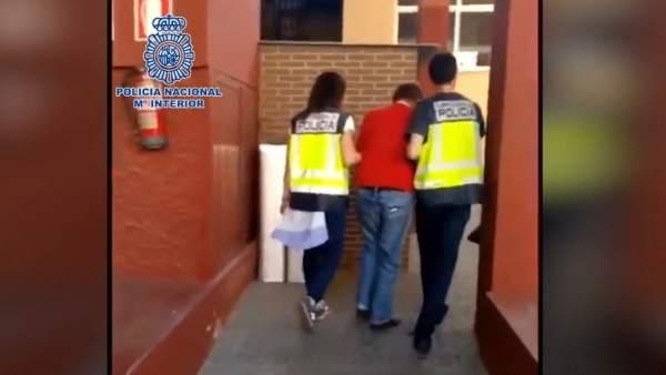 Almería.-Sucesos.- Detenido un fugitivo británico buscado por 53 presuntos delit