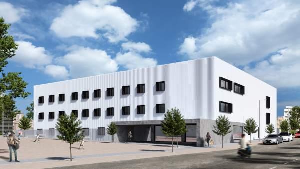 El edificio que albergará el nuevo centro de salud de Lezkairu costará cerca de