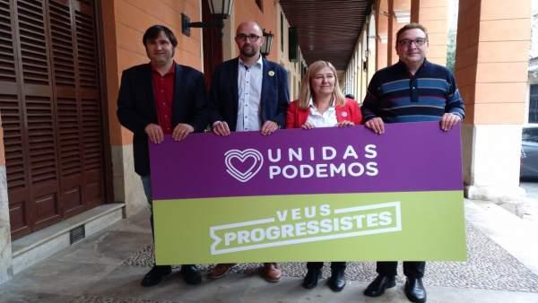 'Unides Podem-Veus Progressistes' Se Presenta Al Senado Con El Objetivo De Logra